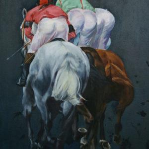 Ölgemälde Pferd
