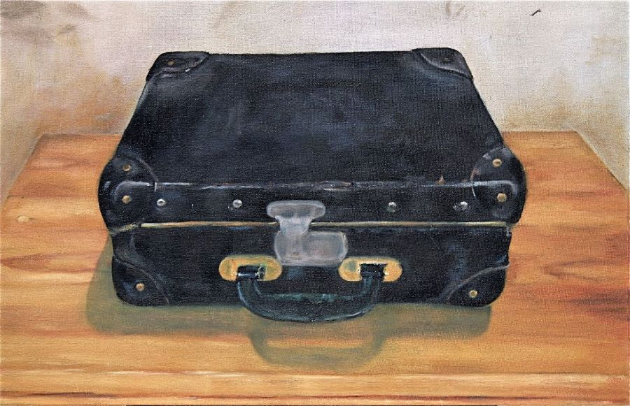Stillleben Koffer