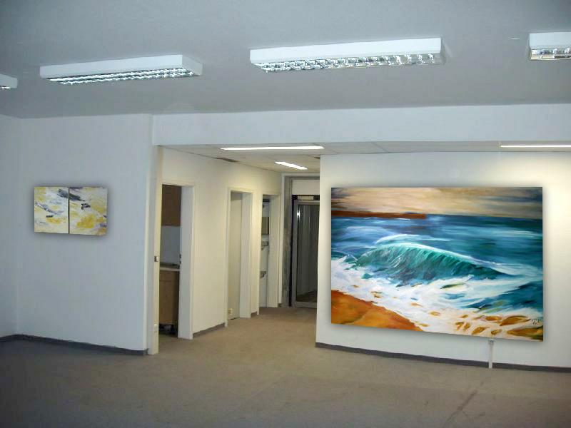 künstlerische Raumgestaltung